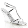 LOVELY-428 Silver Metallic/Clear